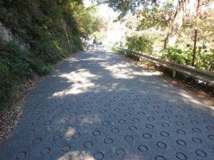 源氏山公園の道