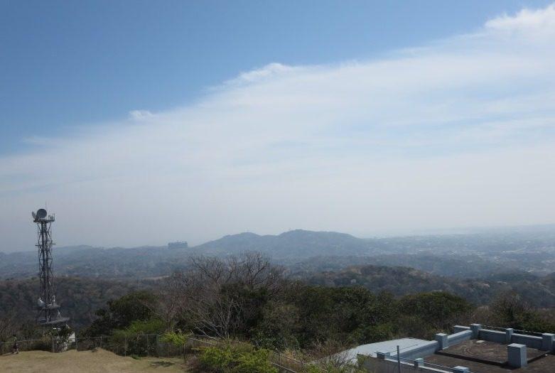 塚山公園展望台からの眺め