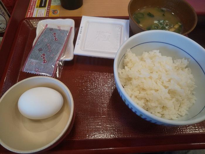 なか卯納豆定食