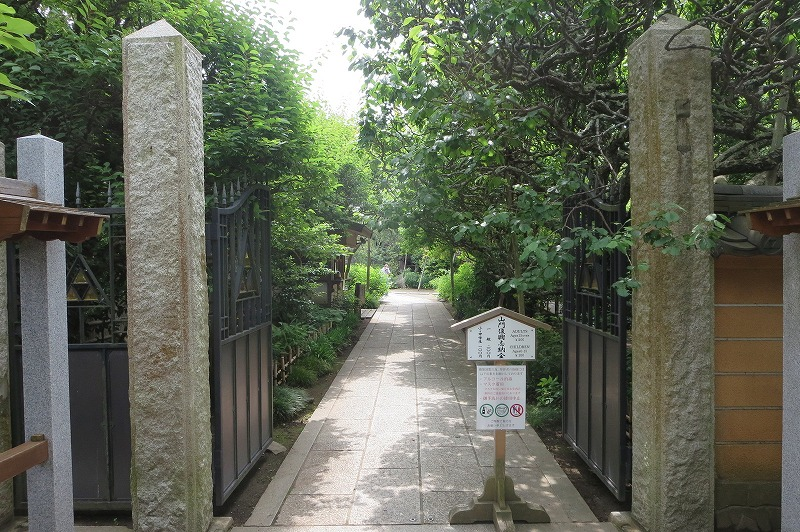 宝戒寺入口