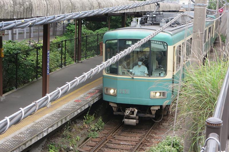 極楽寺駅と江ノ電